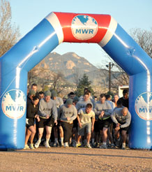 More than 500 Fort Carson community members gathered at Ironhorse Park April 1 for the second annual Sexual Assault Awareness Month five-kilometer run.