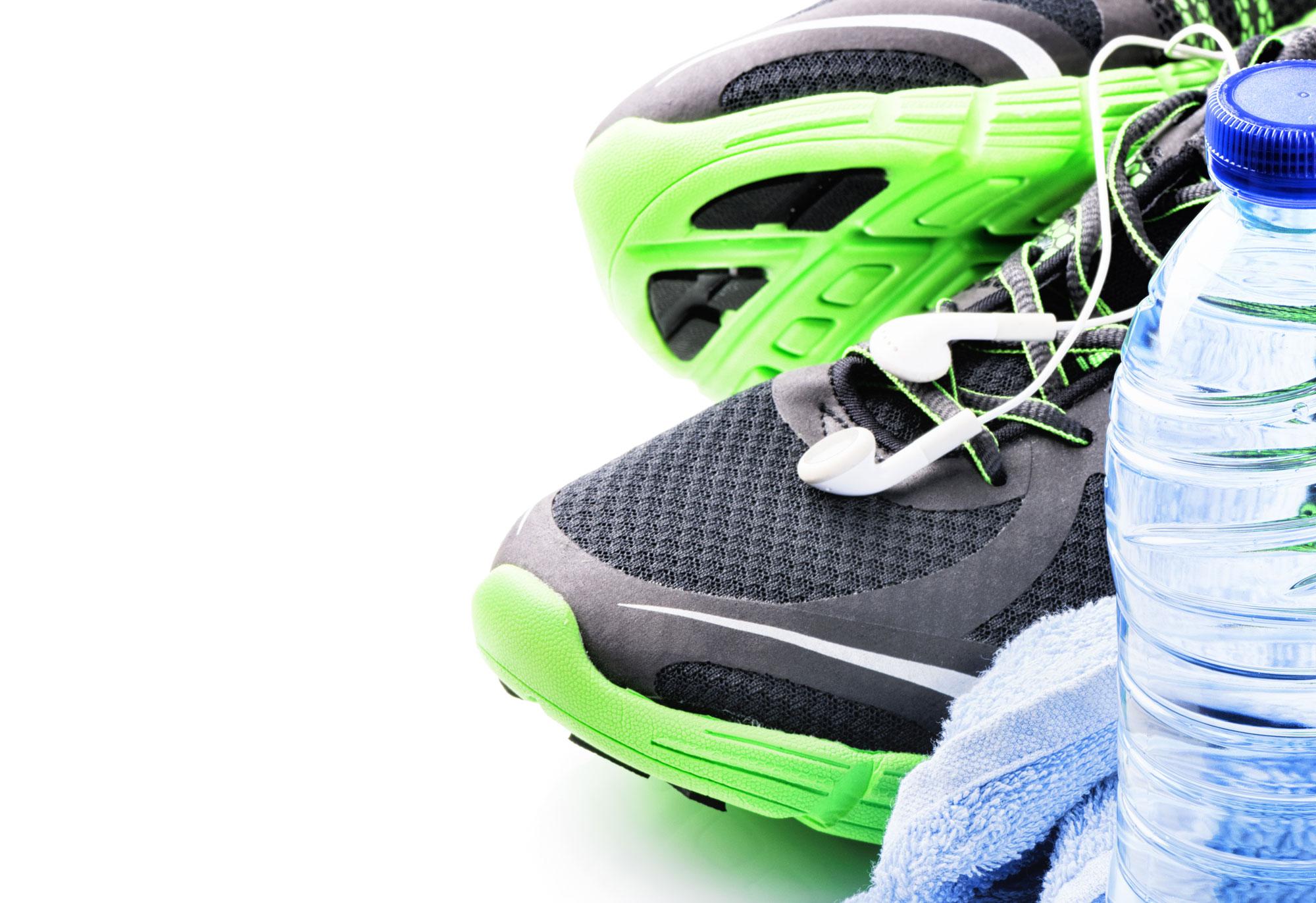 Fitness equipment (Stock Photo)