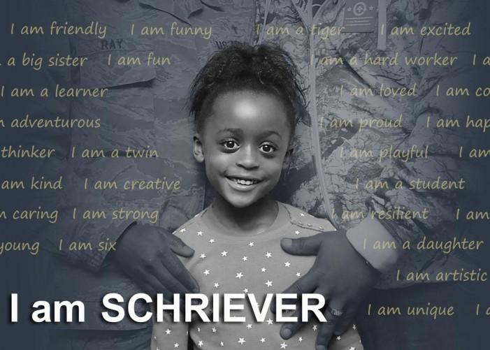 I am SCHRIEVER: Chaplain's daughter remains tiger-spirited