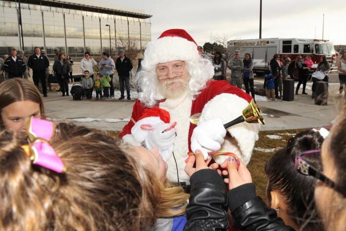 Schriever spreads holiday cheer