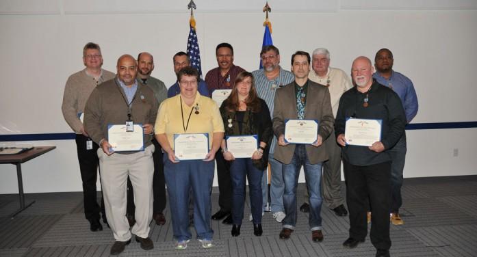 Air Force recognizes key NOAA contributors