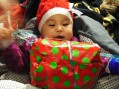 Santa caught in the act: Gifts Greenlandic children during Operation Julemand