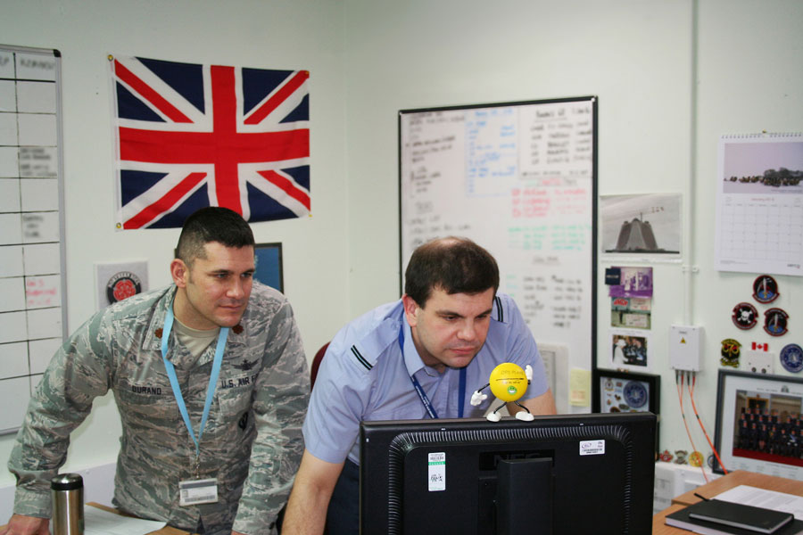 RAF Fylingdales maintains around the clock missile warning capability for both the U.S. and U.K.