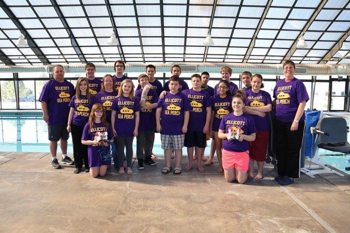 Ellicott SeaPerch teams in top-5 at state competition