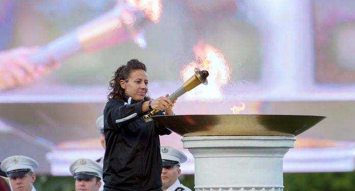 Torch lighting, honoring Vietnam vets kicks off 2016 Warrior Games