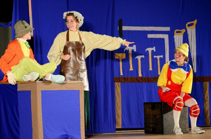 Pinocchio comes to life at Peterson