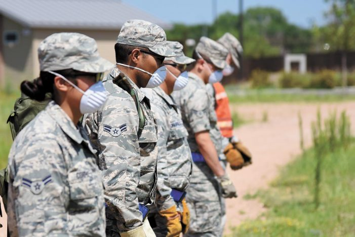 21 FSS partners with El Paso County Coroner for Search & Recovery training