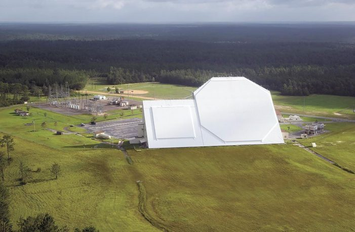 Providing space security from a unique location