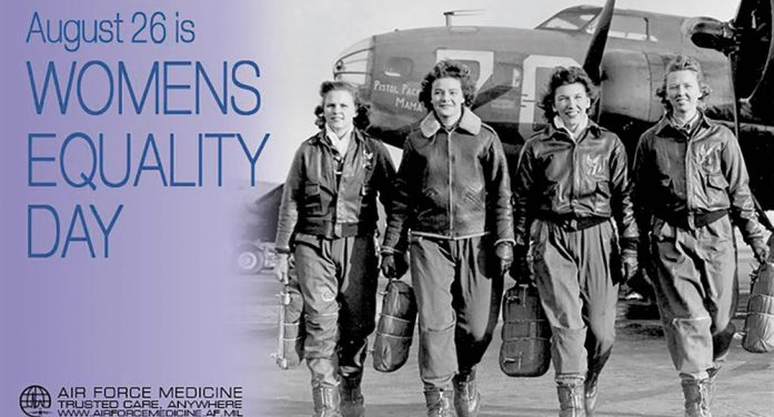 Women serving in military symbol of equality