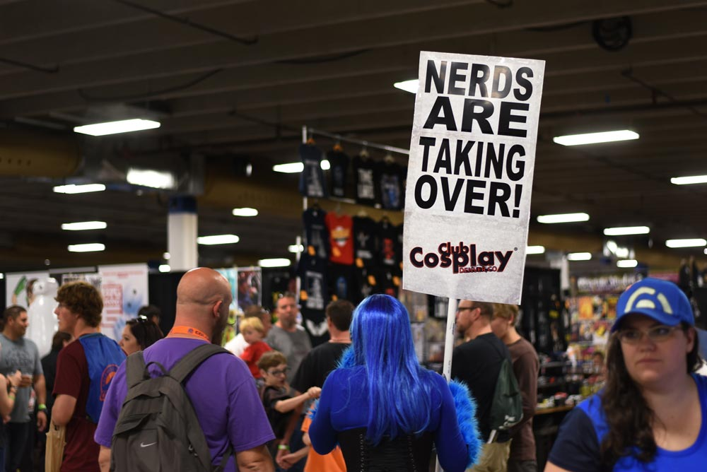 COLORADO SPRINGS, Colo. – Nerds take over the inaugural Colorado Springs Comic-Con at Mortgage Solutions Financial Expo Center in Colorado Springs, Colo., Aug. 27, 2016. Peterson Airmen were among the crowd over the weekend, some dressed in elaborate costumes and others just along for the fun.