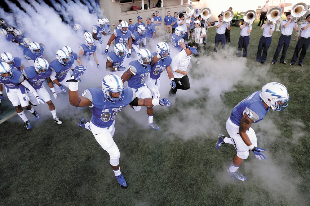 (U.S. Air Force photo) U.S. Air Force Academy, Colo, — Air Force opens the 2016-2017 season by hosting Abilene Christian University, Sept. 3 at Falcon Stadium. Kickoff time is noon.