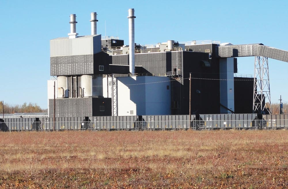 (Courtesy photo) CLEAR AIR FORCE STATION, Alaska — The 1960s-era coal-fired power plant at Clear Air Force Station, Alaska, was decommissioned in January 2016. Clear is now connected to the local power grid and draws its power from a more efficient system, reducing monthly energy consumption by 82 percent.