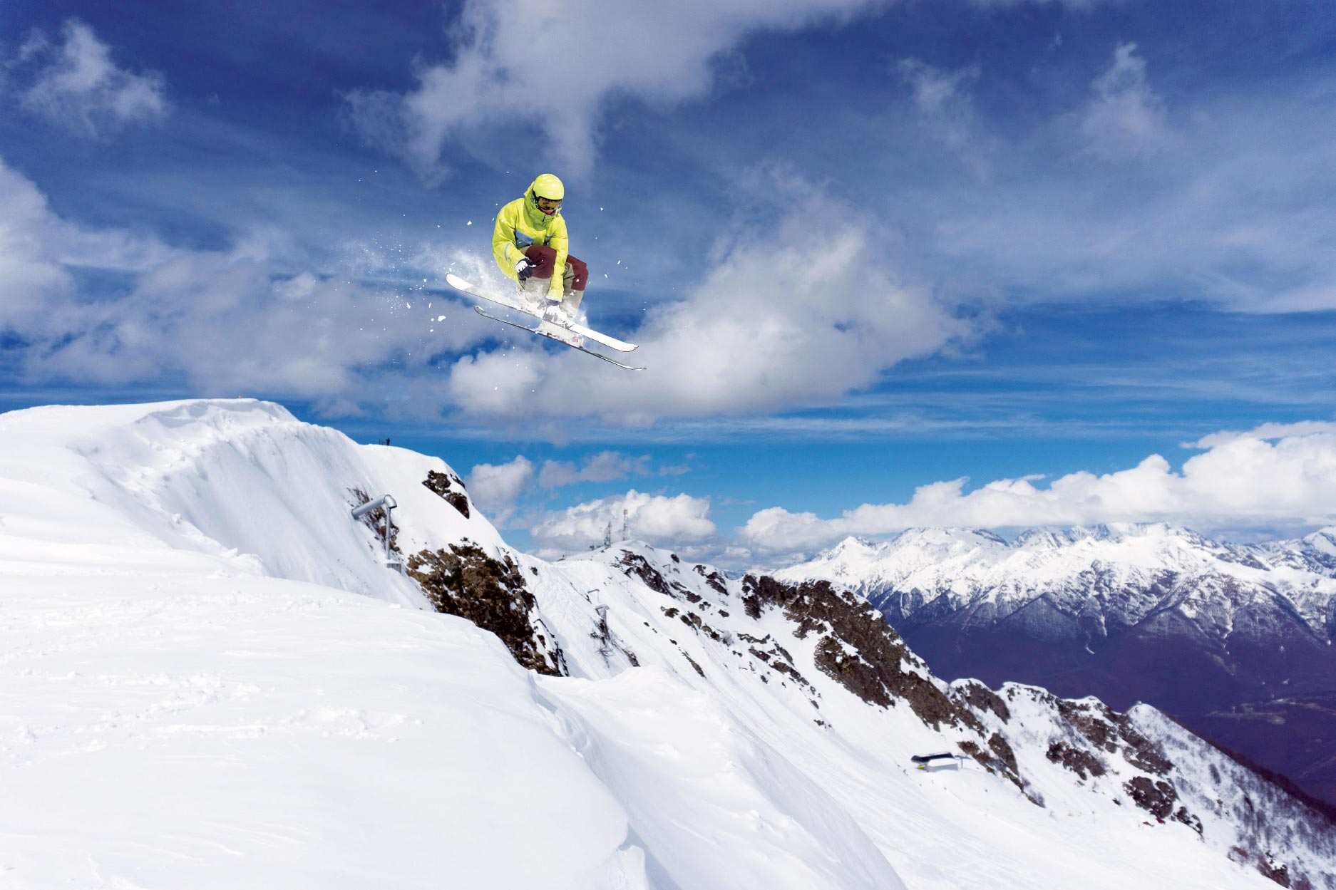 Get in shape before hitting the slopes, stay in shape during winter months