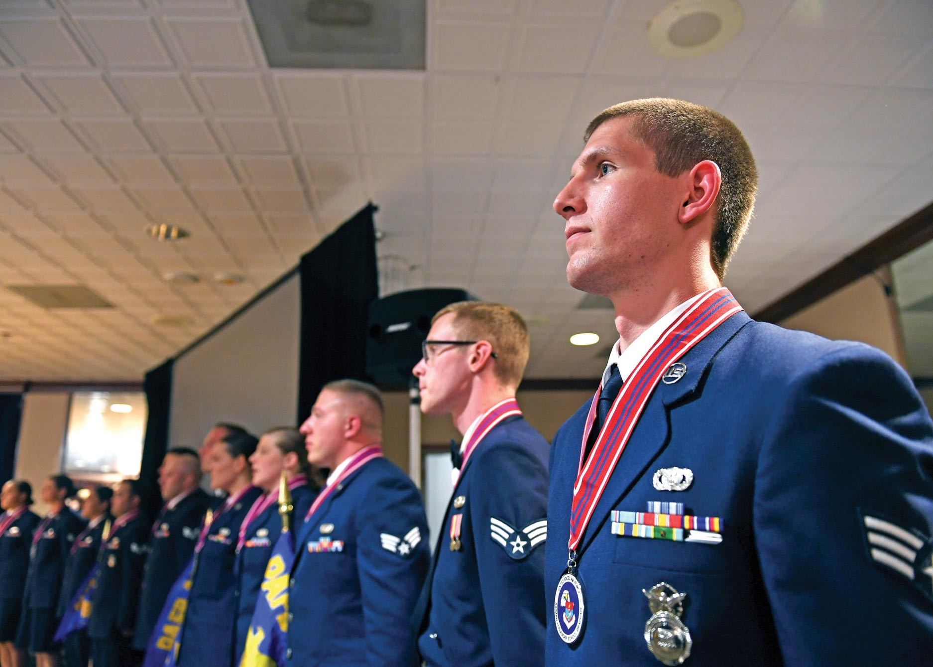 50th Space Wing hosts ALS graduation   Colorado Springs Military